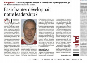 Enchanter les organisations Tanguy Lunven Séminaire de formation originale teambuilding et management